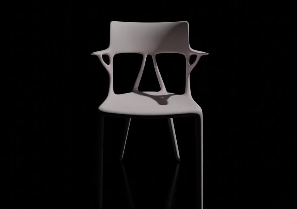 A.I. by Starck for Kartell with Autodesk is the f…